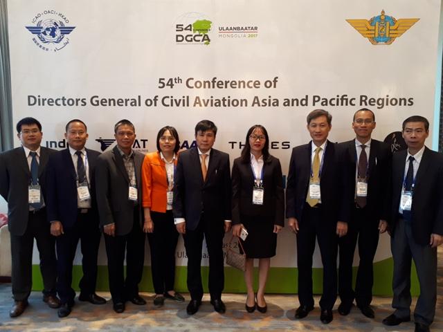 Cục trưởng Đinh Việt Thắng làm Trưởng đoàn tham dự Hội nghị DGCA54 tại Mông Cổ