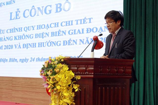 Cục trưởng Cục Hàng không Việt Nam Đinh Việt Thắng phát biểu tại lễ công bố