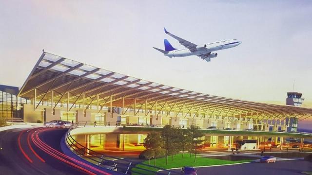 Sân bay Vân Đồn có thể đón 5 triệu khách/năm