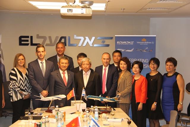 Vietnam Airlines và El Al Israel Airlines thỏa thuận hợp tác liên danh